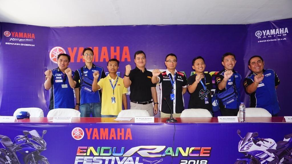Bulan September, Yamaha Gelar Balapan Ketahanan di Sentul
