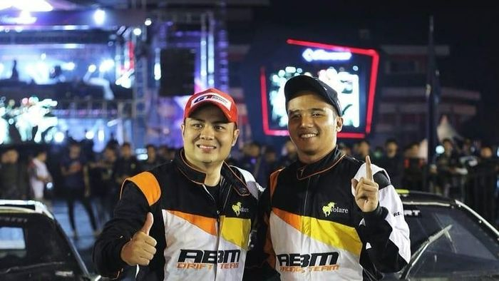 Dua drifter ABM tampil di World Stage Battle Drift 2018 (dok.ABM Motorsport)