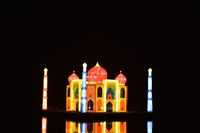 Ada Monas Sampai Taj Mahal di Festival Lampion Ancol