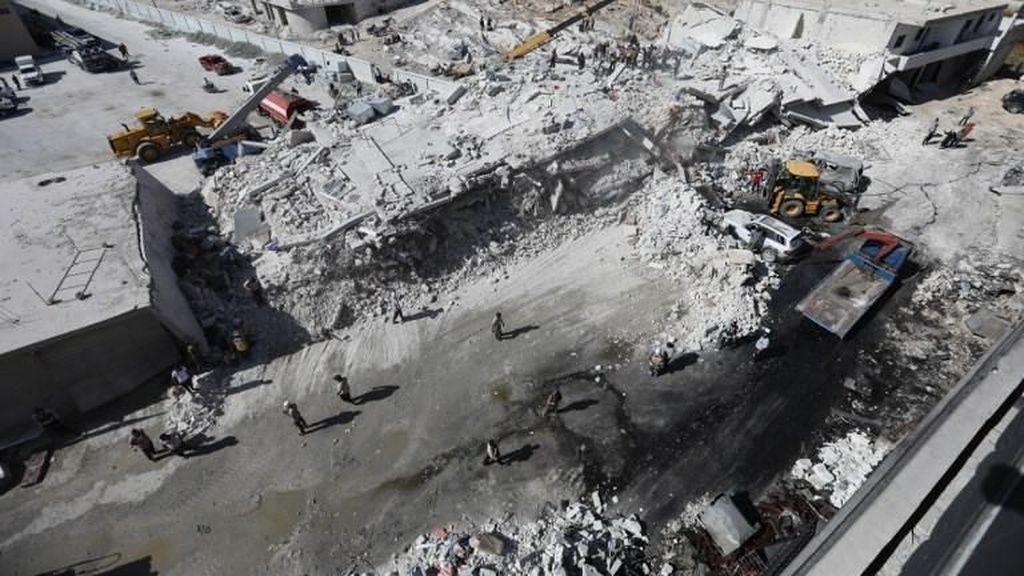 Video: Gudang Senjata Pemberontak Suriah Meledak, 12 Bocah Tewas