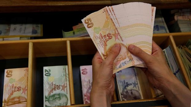 Gara-gara Moody's Lira Turki Kembali Anjlok 3%