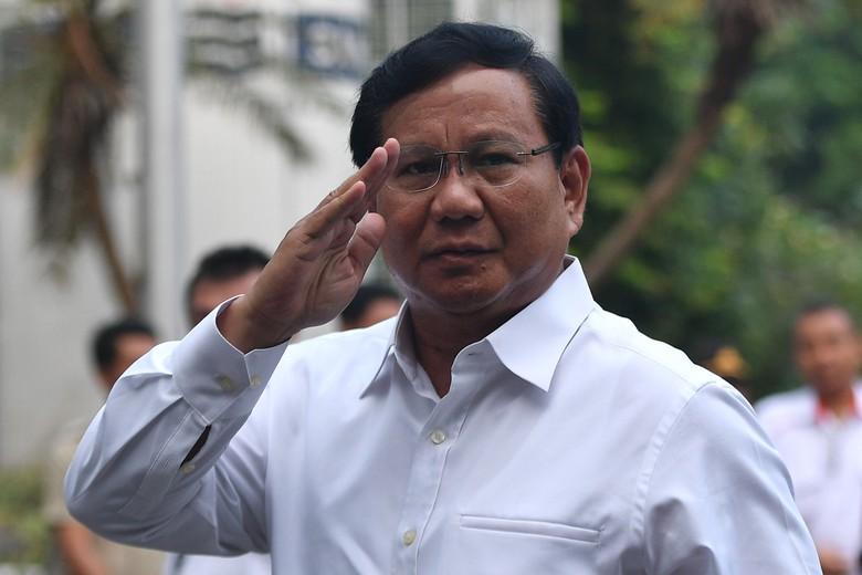 Diumumkan KPK, Total Harta Prabowo Rp 1,9 Triliun