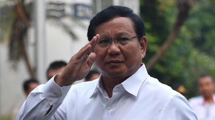 Munarman, Idrus Sambo dan Sandiaga Sambangi Kediaman Prabowo