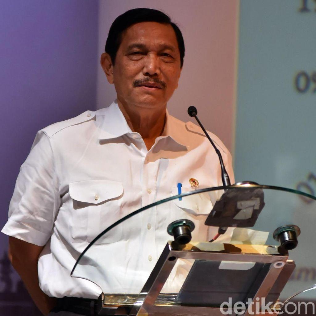 Soal Kasus Suap Meikarta, Luhut: Urusan KPK