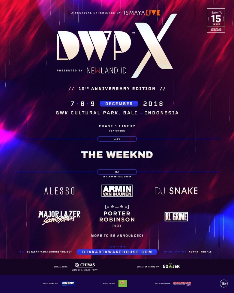 Tahun Ini DWP Bergeser ke Bali, Kenapa?