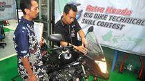 AHM Buka Kelas Big Bike di Kompetisi Teknik Motor Honda