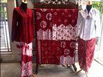 Hari Kemerdekaan, Perajin Batik Sukabumi Usung Tema Merah Putih