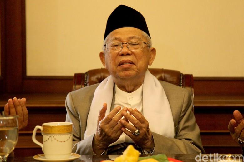 Doa Maruf Amin di PKPI: Bisa Jadi Wapres Seperti Try Sutrisno