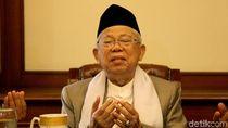 Ini Saran Maruf Amin untuk Pertumbuhan Ekonomi Indonesia