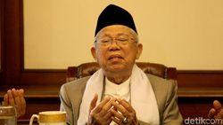 Dari Tanah Suci Maruf Amin Doakan Indonesia