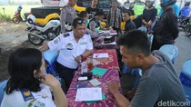 Baru Satu Jam, Dishub Jatim Tilang 40 Kendaraan Overload