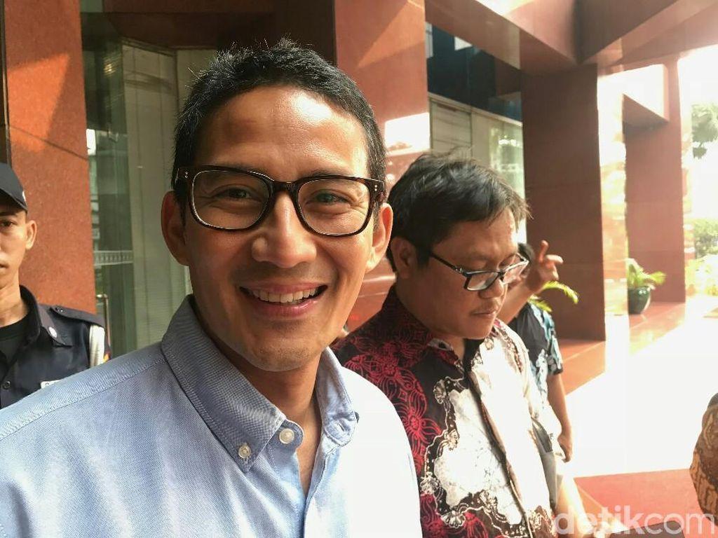 Harta Sandiaga Uno Turun Rp 2,9 T dari Tahun Lalu?