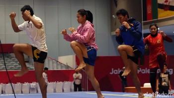 Venue Belum Kelar, Atlet Wushu Tetap Berlatih