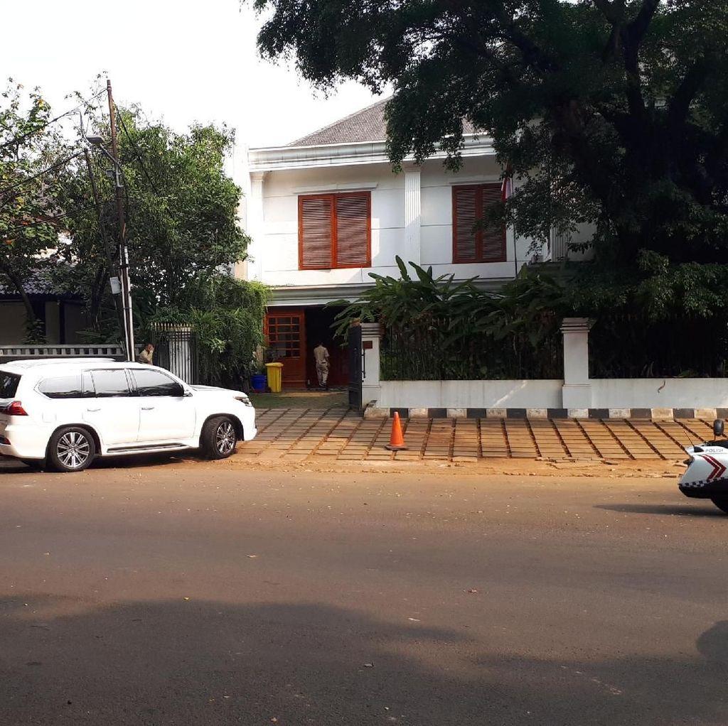 Sekjen Koalisi Indonesia Adil Makmur Kumpul di Rumah Prabowo
