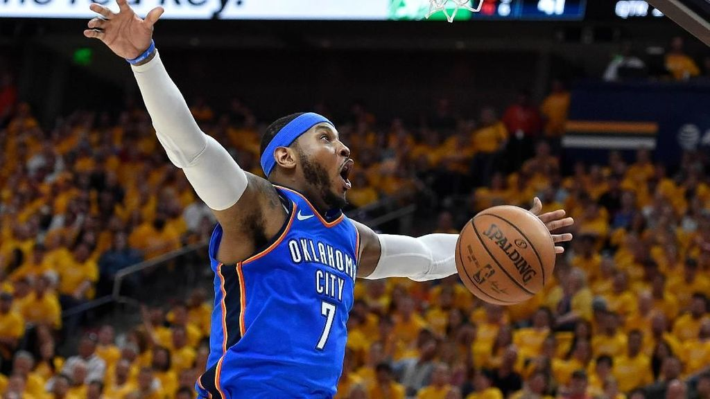 Carmelo Anthony Gabung Houston Rockets
