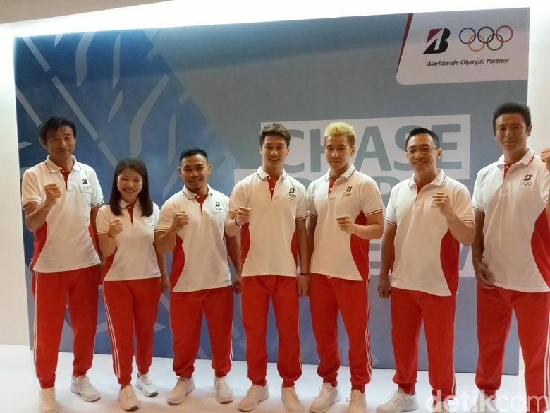 Bridgestone Dukung Tiga Atlet Indonesia untuk Olimpiade 2020. Foto: Akfa Nasrulhak