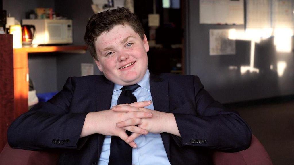 Potret Remaja 14 Tahun yang Calonkan Diri Jadi Gubernur di AS