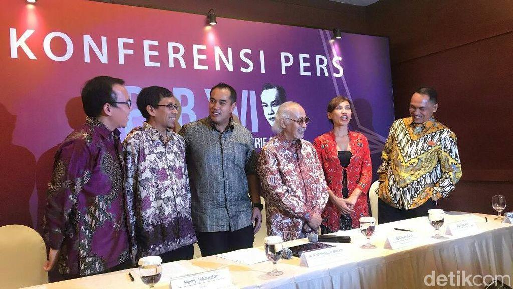 Ahli Kimia hingga Novelis Terima Penghargaan Achmad Bakrie 2018