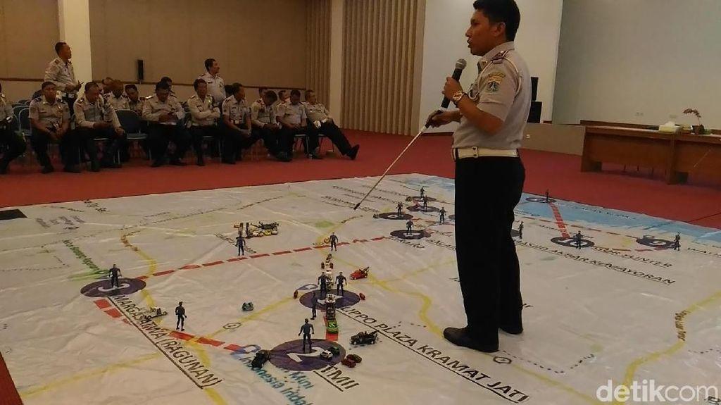 Dishub DKI Siapkan Pengalihan Lalin Selama Kirab Obor Asian Games