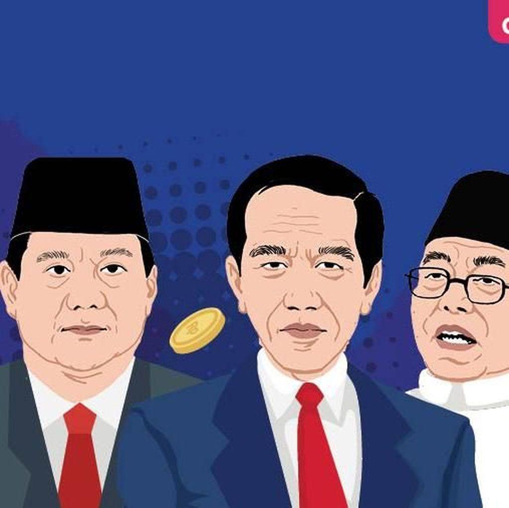 Perbandingan Harta Jokowi Vs Prabowo-Sandiaga