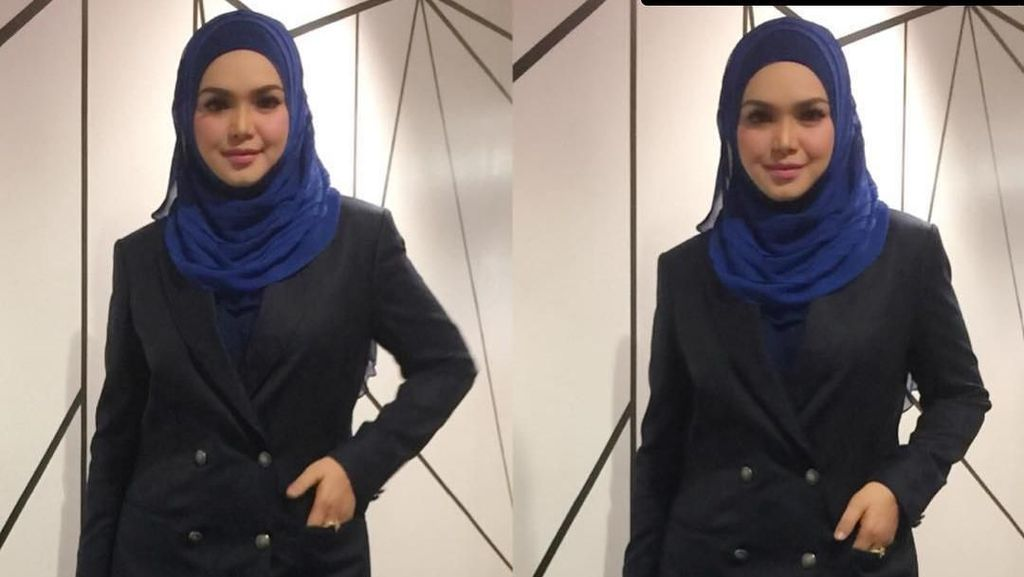 Baju 11 Tahun Lalu Dipakai Lagi, Tubuh Langsing Siti Nurhaliza Bikin Takjub