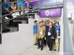 JK Cek Stan Tiket Asian Games dan Naik TransJ di GBK
