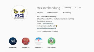 Video: Kocak dan Kreatif! Instagram Milik ATCS Dishub Bandung