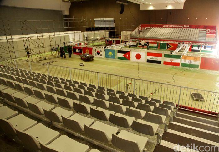 Asian Games di JIEXPO Kemayoran akan memanggungkan enam cabang olahraga. Yakni, wushu, senam, angkat besi, tenis meja, tinju, dan bridge.