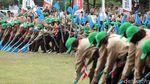 Ratusan Pramuka Unjuk Gigi di Depan Jokowi