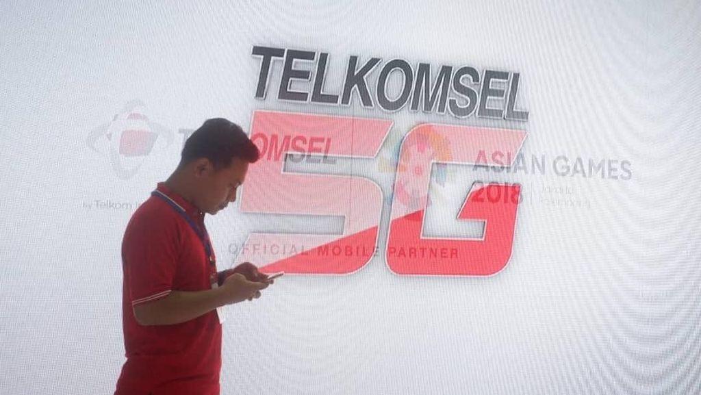 Telkomsel Boyong 5G Experience Center ke Asian Games