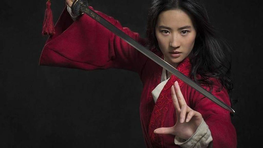 Aktris China Liu Yifei Jadi Bintang Mulan, Ini Kecantikannya di Dunia Nyata