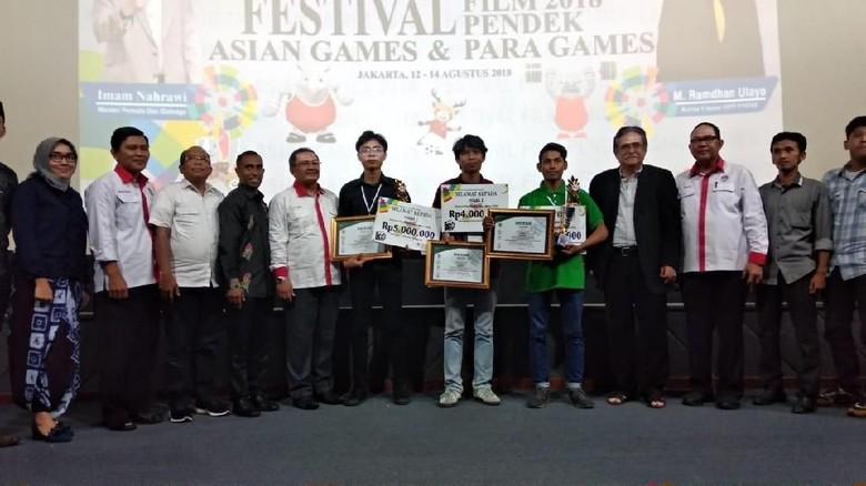 Sambut Asian Games dan Asian Para Games, Kemenpora Gelar Festival Film Pendek