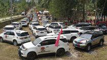 Tujuan Mulia Komunitas Fortuner yang Viral di Banten