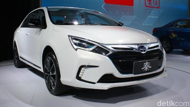 Mobil hybrid BYD Qin 5 (Foto: dok detikOto)