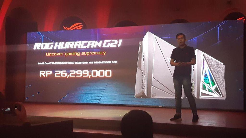 Asus Luncurkan Desktop Gaming Gahar, Harganya?