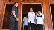 Jokowi Tinjau Renovasi Rumah Zohri di Lombok Utara