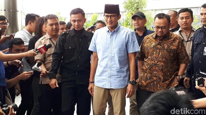 Bareng Sudirman Said, Sandiaga Datangi KPK Lapor LHKPN