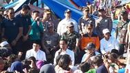 Jokowi ke Pengungsi Lombok: Rumah Rusak Berat Dibantu Rp 50 Juta