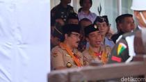 Di Depan Jokowi, Adhyaksa Singgung Anggaran Pramuka Tak Turun