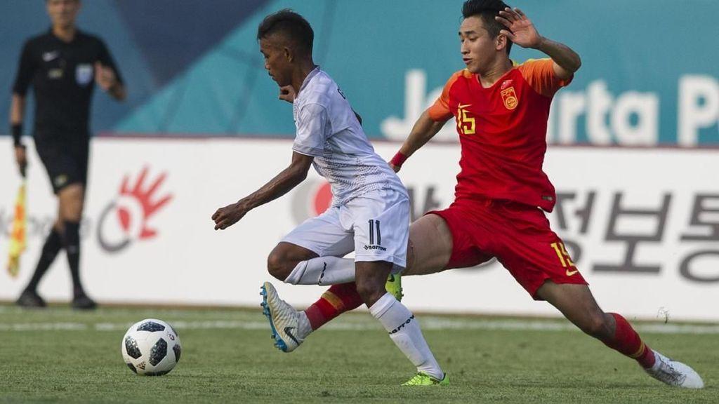 Hasil Sepakbola Asian Games 2018: Uzbekistan Menang, China Pesta Gol