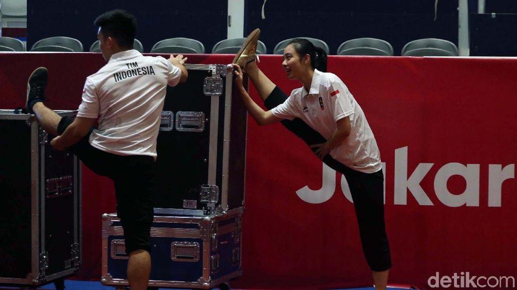 Emas Wushu di Asian Games di Bahu Lindswell Kwok