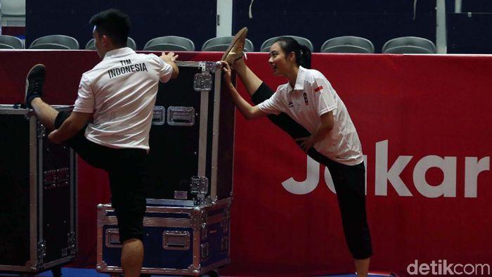 LIndswell Kwok diharapkan bisa meraih medali emas Asian Games 2018. (Agung Pambudhy/detikSport)