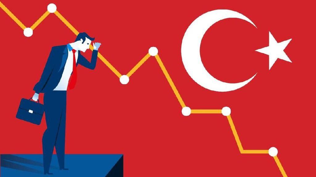 Ekonomi Minus 1,5%, Turki Masuk ke Jurang Resesi