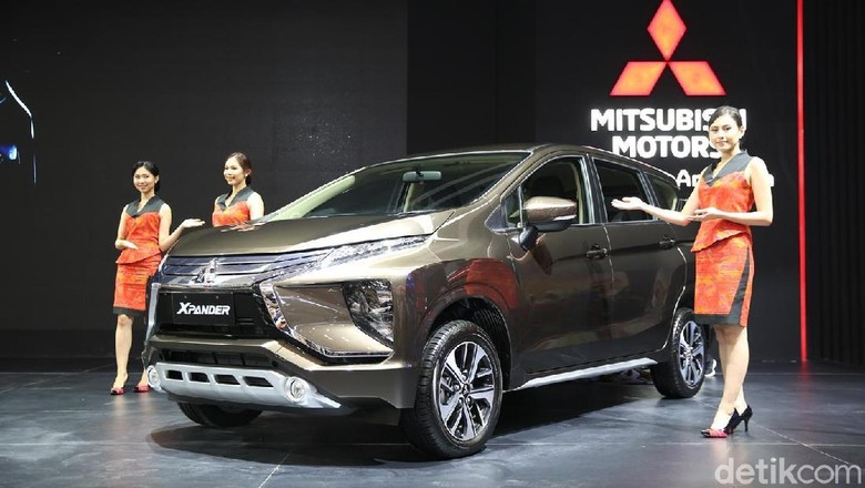 Xpander jadi bintangnya Mitsubishi (Foto: Mitsubishi)