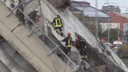Jalan Layang di Italia Ambruk, 11 Orang Tewas