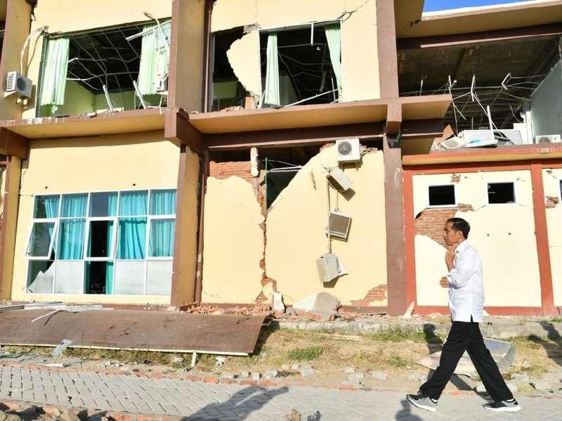 Elite PD Dengar Jokowi Hanya Beri Rp 38 M ke Lombok, BNPB: Salah!