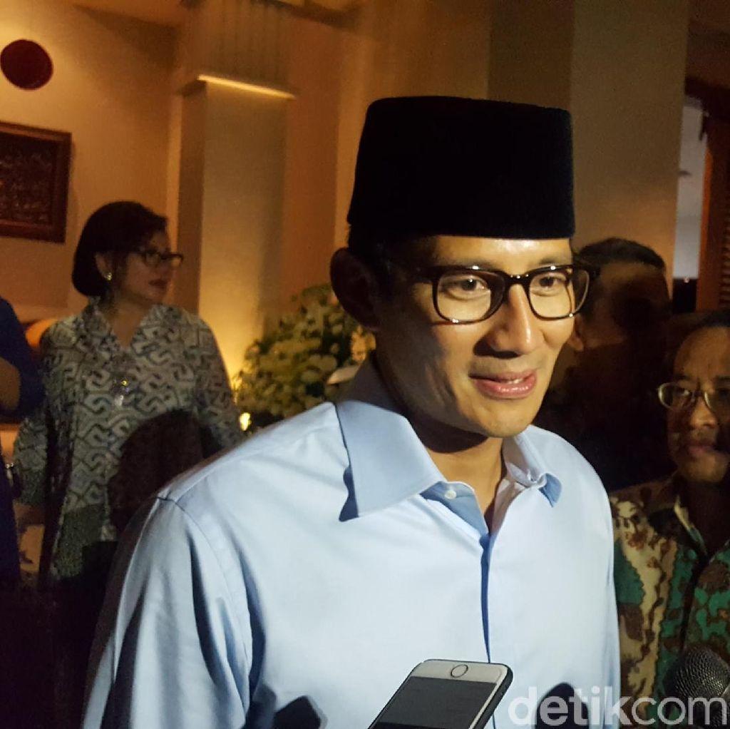 Sandiaga Akan Atur Jadwal Rutin Olahraga Bareng Prabowo
