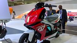 TVS Siap Produksi dan Jual Motor Listrik