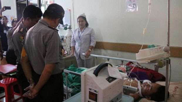 Jumaidi masih dirawat di RS Bhayangkara
