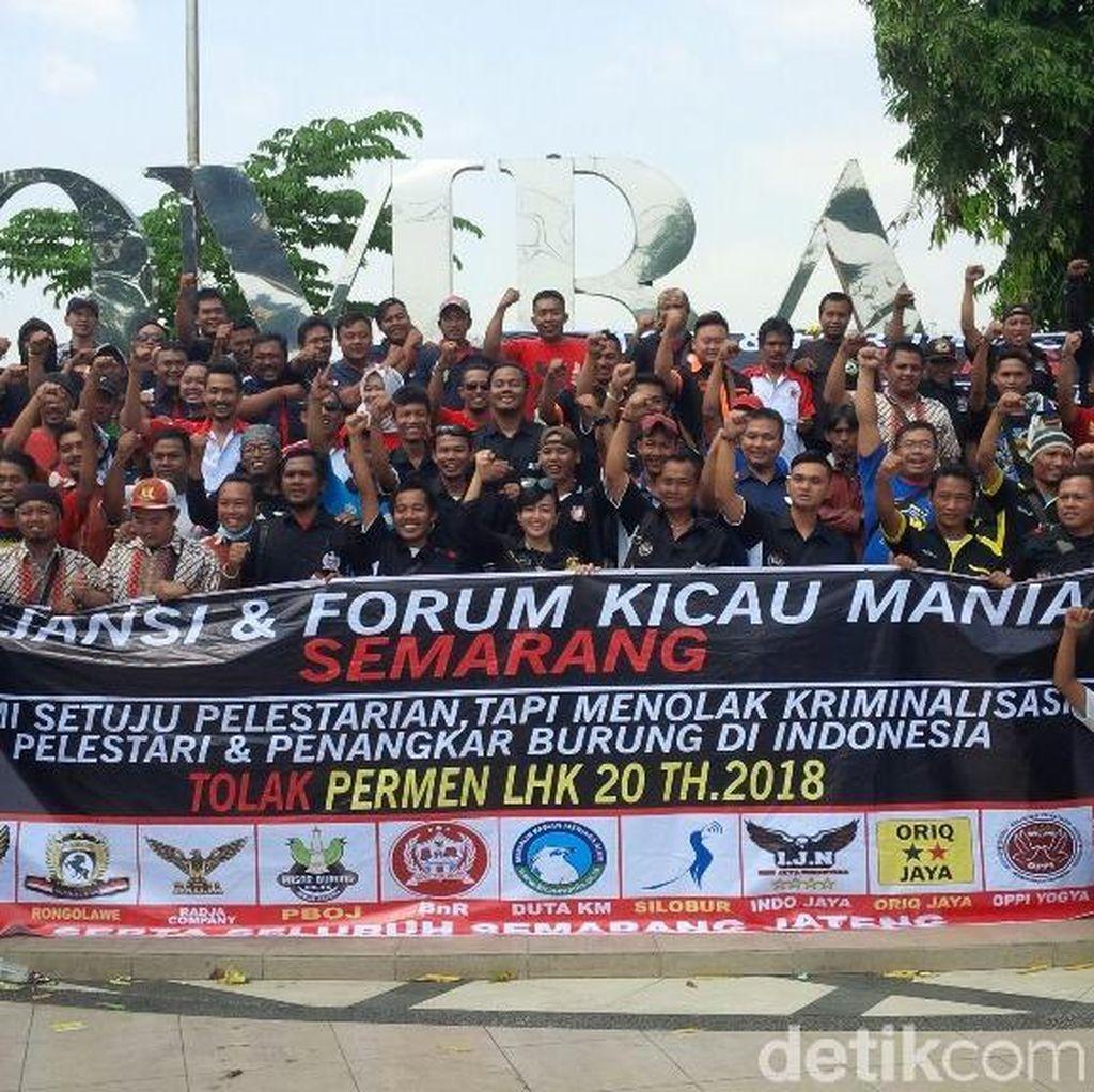Komunitas Pecinta Burung di Semarang Desak Revisi Permen LHK